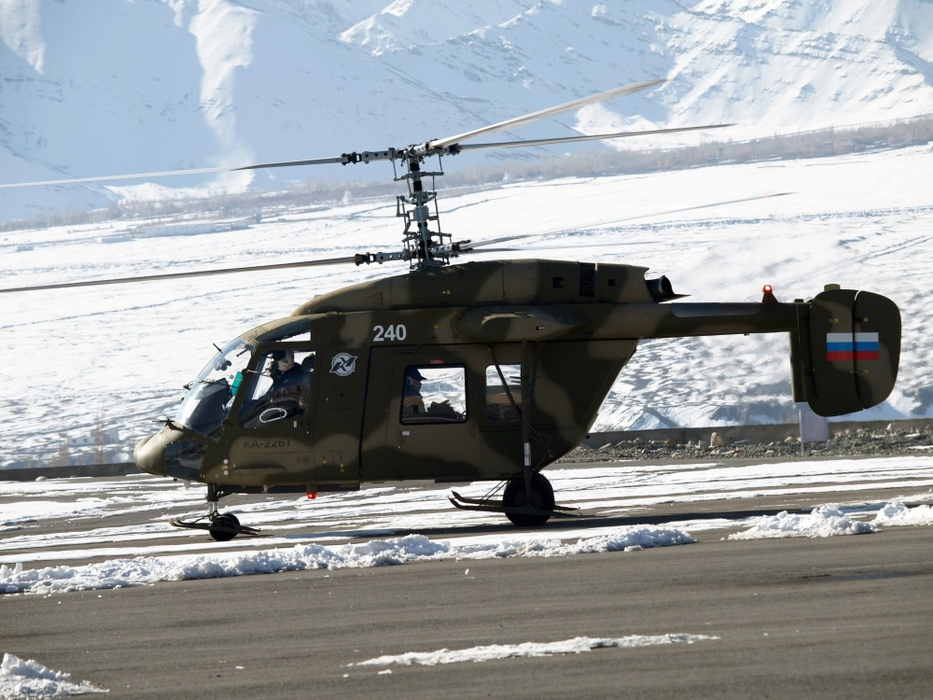 Kamov 226T helicopter. (Photo Courtesy: Russian Helicopters)