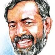 Yogendra Yadav (Photo: Tweeter)