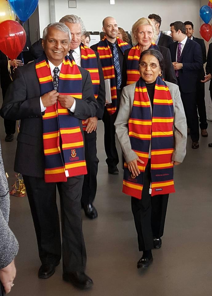 Desh and Jaishree Deshpande (Photo: Raj Melville)