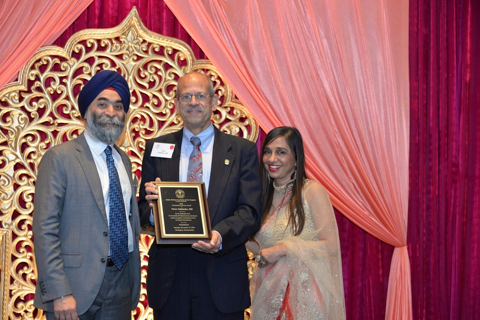 From Left to Right: Chief Guest Amar Sawheny, Victor Saldanha and Sapna Aggarwal