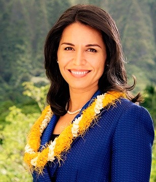 Tulsi Gabbard, a Democrat who is the first Hindu elected to United States Congress, met with Republican President-elect Donald Trump on Monday, Nov. 21, 2016, to discuss the fight against terrorism, Syria and national security. (Credit: Gabbard\'s office/IANS)
