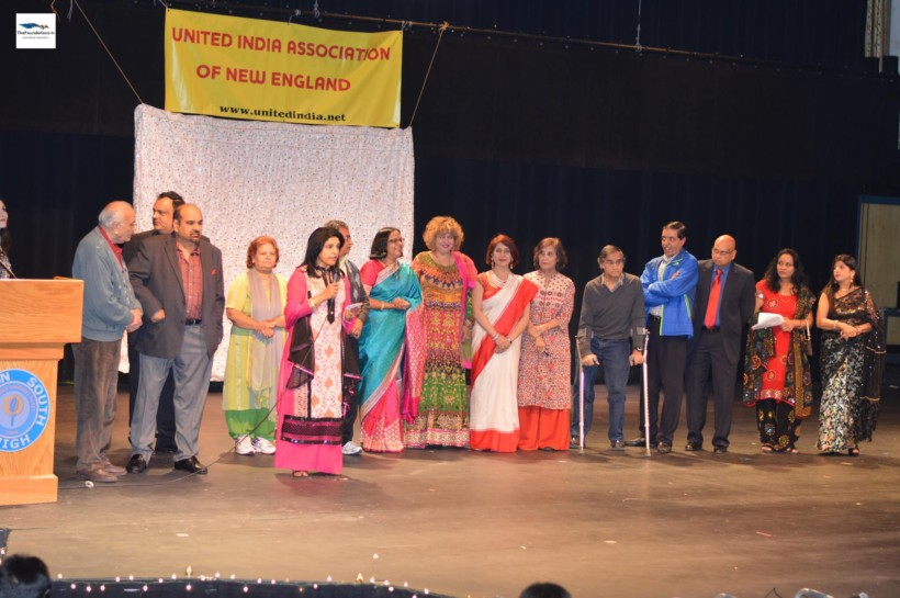 Newly-elected board of United India Association of New England