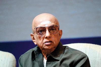 Cho Ramaswamy (Photo courtesy: Times of India)