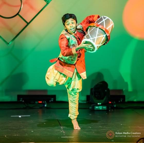 Kathir Meyyappan: First Place winner in Solo Dance Juniors
