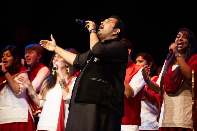 Shankar Mahadevan (Photo: Kelly Davidson)