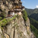 Nepal Bhutan-cliff