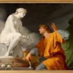 Pygmalion priant Vénus d'animer sa statue, Jean-Baptiste Regnault