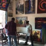 AAG-Curators Mark Rathinaraj and Aung Soe Min