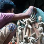 Durga Idol Making