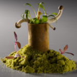 Gaggan Anand-Mushroom roll