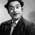 Kishore Kumar in another of his zany onscreen roles