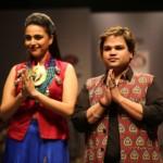 Akassh K Aggarwal with Swara Bhasker