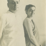 Indira with husband Feroze c-1942