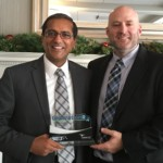 Jay Gupta with Jeff Sinn from Cardinal Health