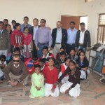 Vision-Aid Agra-students