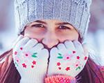 frost bite-person