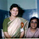Sunayana Kachroo and Jagjit Singh-1996-saree