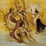 Anu Naik- Jhula-Oil on Canvas