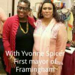 Noureen with Mayor Spice