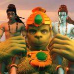 Hanuman vs Mahiravan
