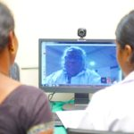 Expert gynaecologists sitting in Hyderabad provide consultation to pregnant women through teleconferencing.