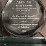 Praveen Kopalle-Award
