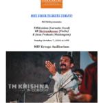 TM Krishna-Poster