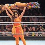Kavita Devi in a wrestling ring-INDIA tv