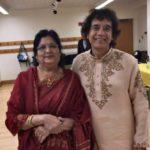 Rekha Chitre With Zakis Hussain