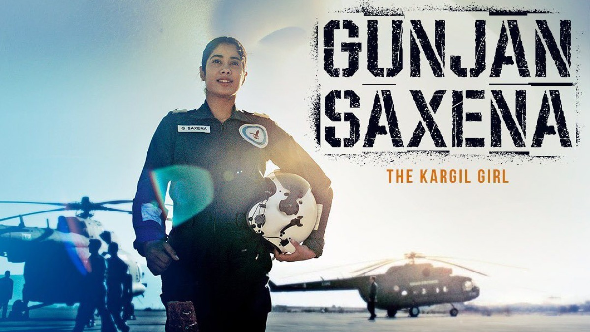Gunjan Saxena Set Piece Biopic Manages To Regale India New England News