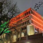 Boston City Hall-Diwali