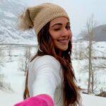 Kiara Advani snow