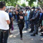 Assam-Surrender-Gun Hoisting